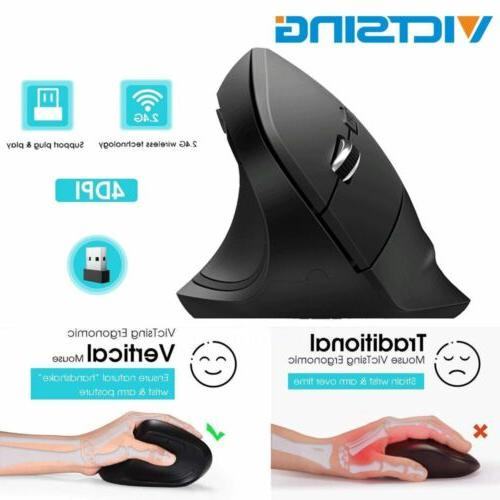 wireless optical mouse mice 6