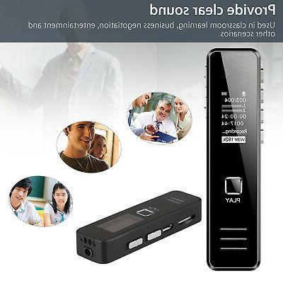Mini Voice Recorder Dictaphone OLED US