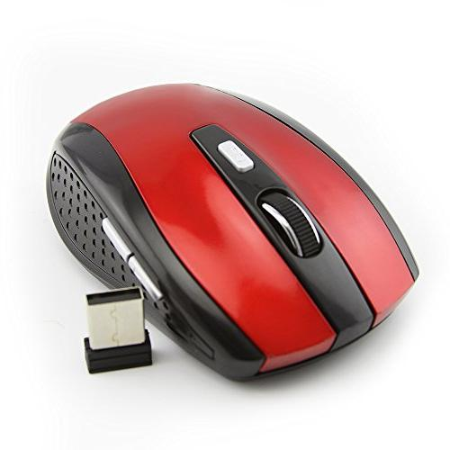 wireless portable mobile mouse optical