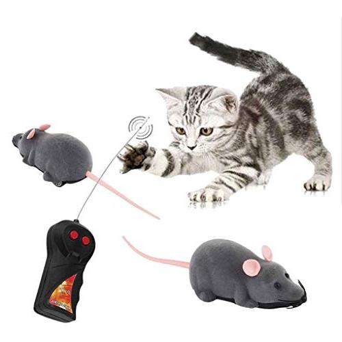 Loria Mouse Plastic Electronic Funny Playing Cat Toys