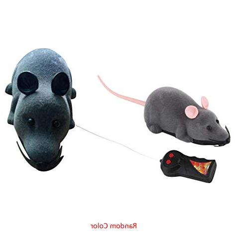 Loria Wireless Remote Mouse Plastic Electronic Funny Motion Cat Toys