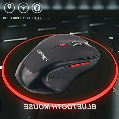 Bluetooth Wireless Mouse 2400 DPI Adjustable Optical Gaming