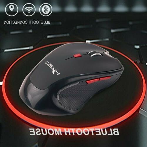 Mice Mouse Bluetooth Wireless Optical 2400 DPI for Mac Macbo