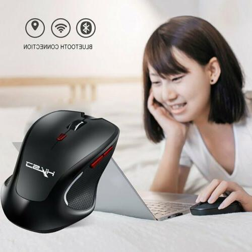 Bluetooth Wireless Mouse Compact DPI Adjustable Optical Gami