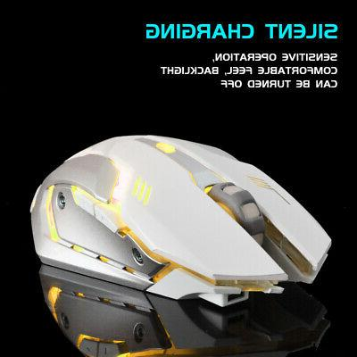 Mouse Rechargeable X7 Laptop Mice