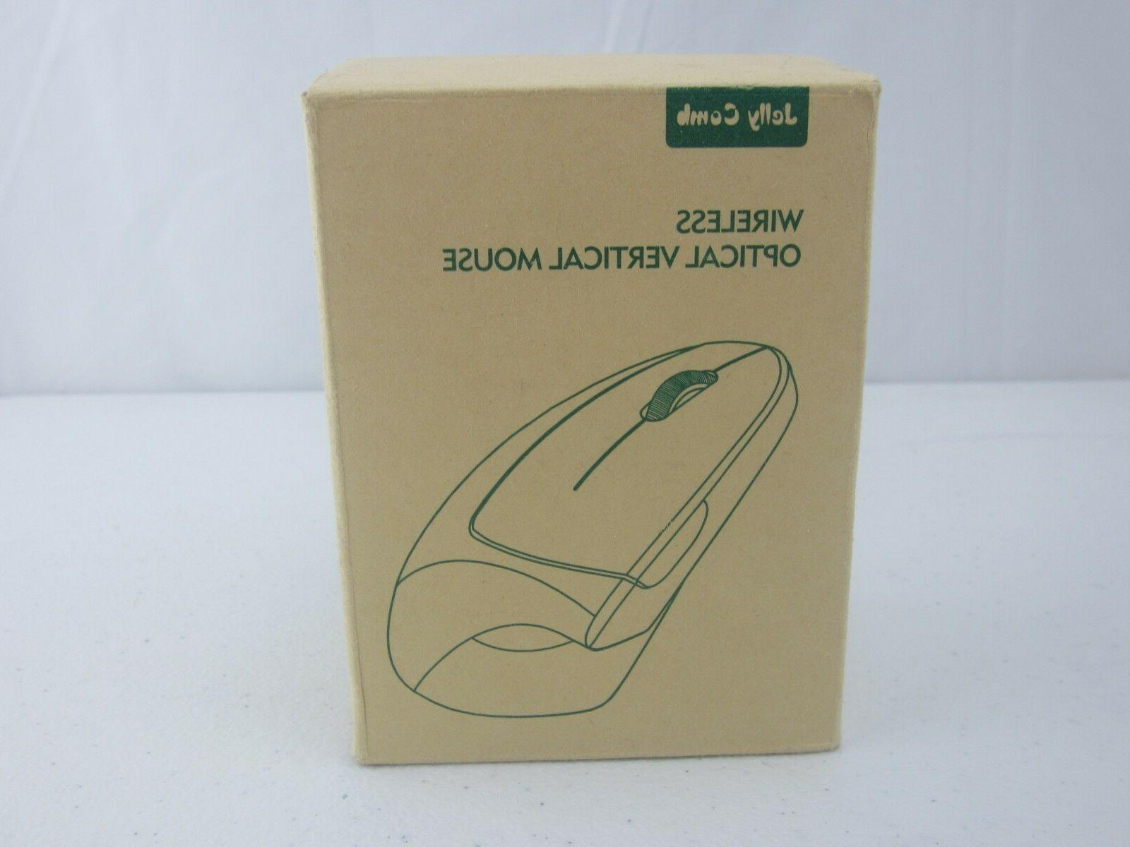 wireless vertical mouse jelly comb 2 4g