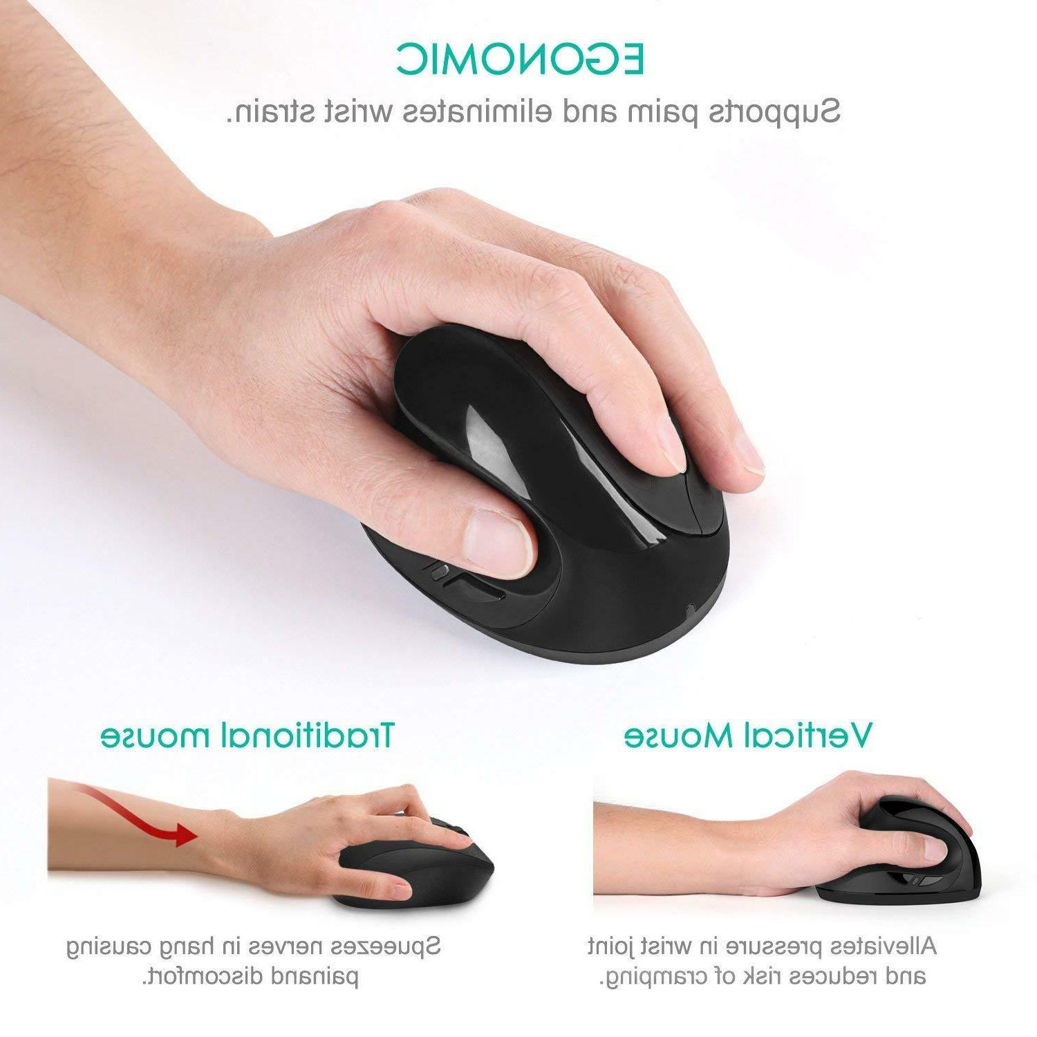 Wireless Mouse, 2.4G High