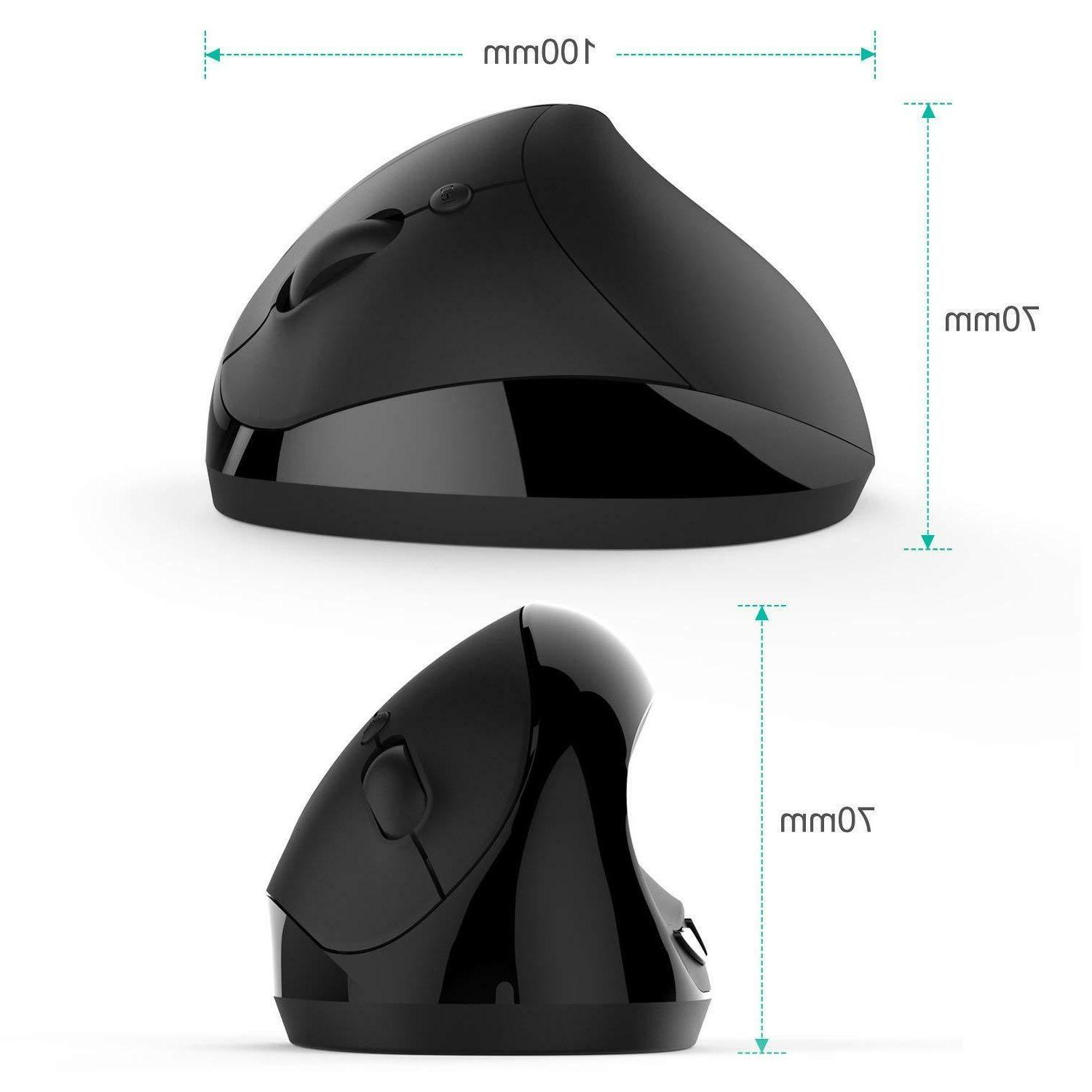 Wireless Vertical Mouse, Comb SMALL Mouse