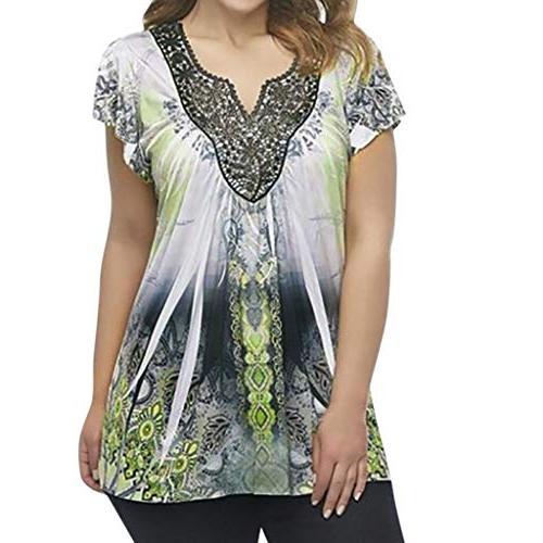 women blouse women ladies summer short sleeve