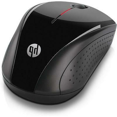 HP Mouse, Black/Metallic #H2C22AA#ABL