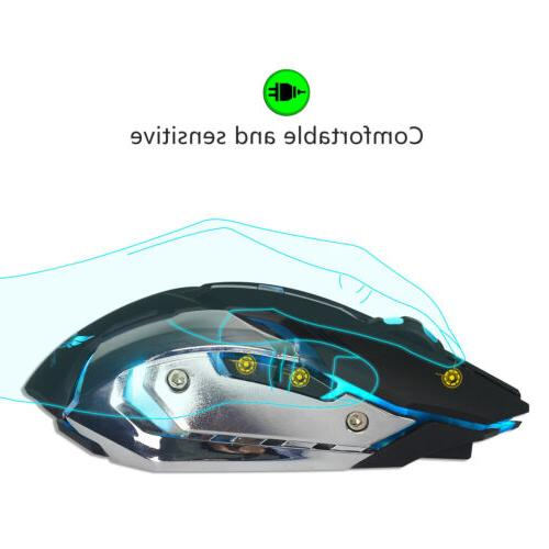 X70 Rechargeable USB Optical Mouse US