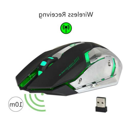 X70 Rechargeable 2.4GHz Optical Mice US