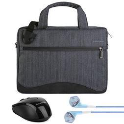Vangoddy 17 Inch Laptop Briefcase Messenger Shoulder Bag for