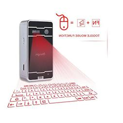 Mini Laser keyboard,atongm Official Virtual Projection Bluet