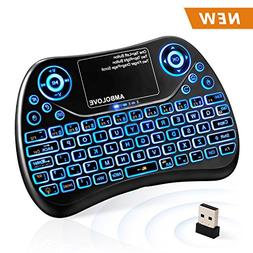 Wireless Mini Keyboard with Touchpad Mouse and Multimedia Ke