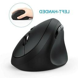 Left-Handed Mouse, Jelly Comb Wireless 2.4GHz Left Hand Ergo