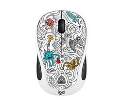Logitech M325C Wireless Mouse Techie White