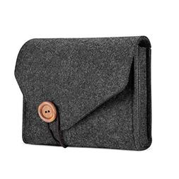ProCase MacBook Power Adapter Case Storage Bag, Felt Portabl