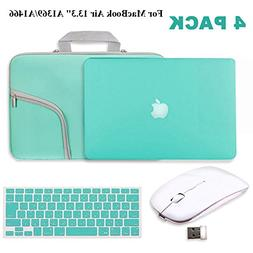 "Turquoise Matte Hard Case for MacBook Air 13.3""-IC ICLOVER R"