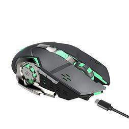 ❤️MChoice❤️HXSJ M70GY Ergonomic Wireless Gaming Mous
