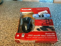 MICROSOFT WIRELESS LASER MOUSE 5000 NEW IN BOX
