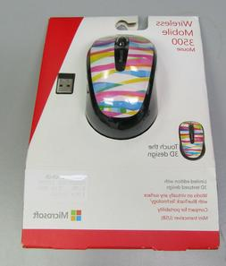 Microsoft Wireless Mobile Mouse 3500 Limited Design NEW