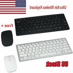 Mini 03 2.4G DPI Wireless Keyboard and Optical Mouse Combo B