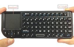 iPazzPort Mini 2.4Ghz RF Wireless Keyboard Backlit With Mult