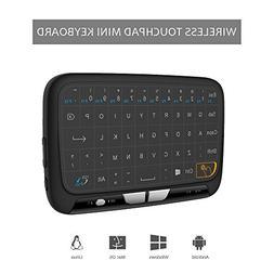 Mini Touchpad Keyboard, UMWON 2.4GHz Wireless Keyboard With