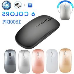 Mini Wireless Bluetooth Mouse 1600DPI Mice for Android Phone