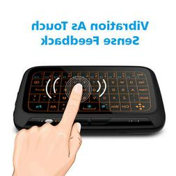 Mini Wireless H18 2.4GHz Keyboard Air Mouse Large Touchpad B