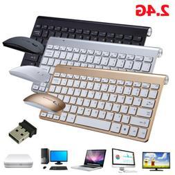 Mini Wireless Keyboard & Mouse Combo Set 2.4G For Mac Apple