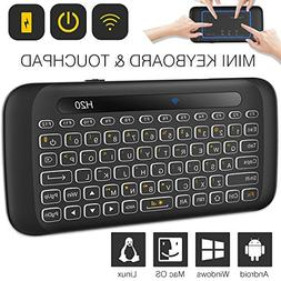 TNAIVE Mini Wireless Keyboard and Mouse Combo, Adjustable Ba