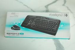 Logitech MK320 Wireless Keyboard and Mouse Combo NIb Free Sh