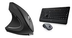 Logitech MK520 Wireless Keyboard and Mouse Combo — Long Ba