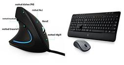 Logitech MK520 Wireless Keyboard and Mouse Combo — Keyboar