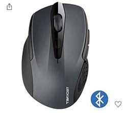 TeckNet mouse Bluetooth wireless Grey Mouse 2600/2000/1600/1
