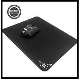 JETech Mouse Pad Soft Mat with Gel Wrist Black