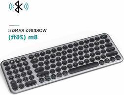 Multi-Device Bluetooth Keyboard, Jelly Comb Wireless Slim Re