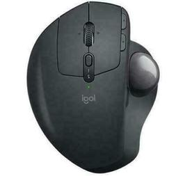 Logitech MX Ergo Wireless Trackball Mouse – Adjustable Erg