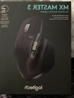 Logitech MX Master 3 Advanced Wireless Mouse - Black 910-005