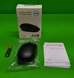 New Dell Black Wireless Mouse WM326 w/ Battery