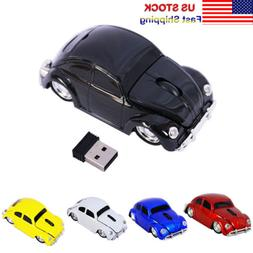 New Classic VW Beetle car Wireless Mouse gaming mice for PC