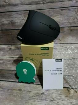 New In box Jelly Comb Wireless Optical Vertical Mouse black