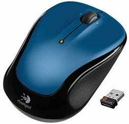 New Logitech M325 Compact Wireless Mouse Blue FREE SHIPPING!