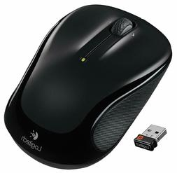 New Logitech M325 Wireless Optical Mouse - Black 910-002974