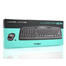 NEW Logitech MK320 Wireless Desktop Keyboard and Mouse Combo