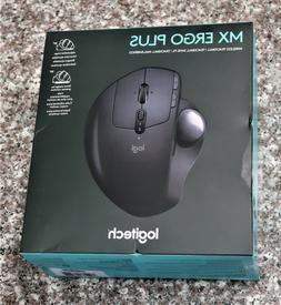 NEW Logitech MX ERGO Plus Bluetooth Wireless Trackball Mouse