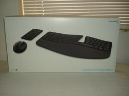NEW MICROSOFT SCULPT ERGONOMIC DESKTOP KEYBOARD AND MOUSE CO
