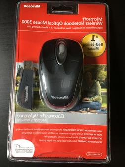 NEW SEALED - Microsoft Wireless Notebook Optical Mouse 3000